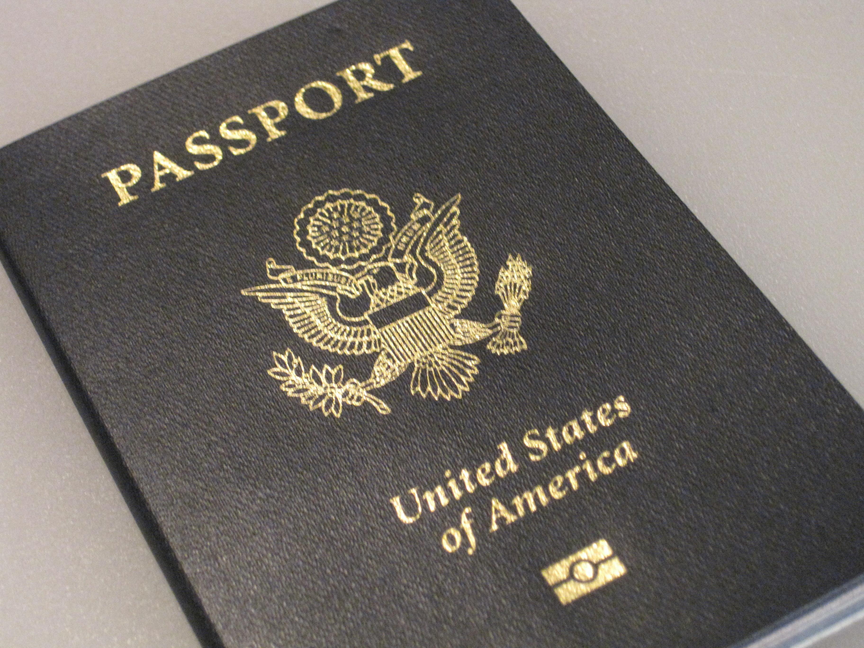 mi pasaporte!